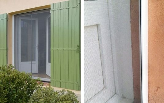 Moustiquaire enroulable fenêtres et portes Mariton - EPMR