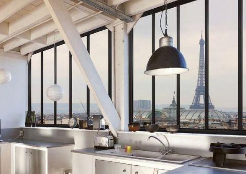Fenêtre fixe en aluminium à Paris - Tour Eiffel - EPMR Menuiserie (13)