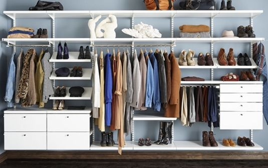 Placard rangement vêtements Elfa - EPMR
