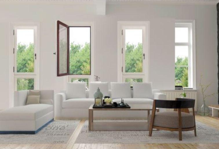 Fenêtres battantes bois blanc - ©ELVA EPMR
