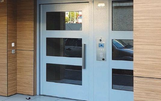 Porte entrée métallique CIBOX - EPMR