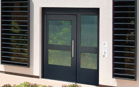 Porte hall d'entrée CIBOX - EPMR 13